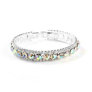 Jewelry - Rhinestone Crystal Open Bracelet